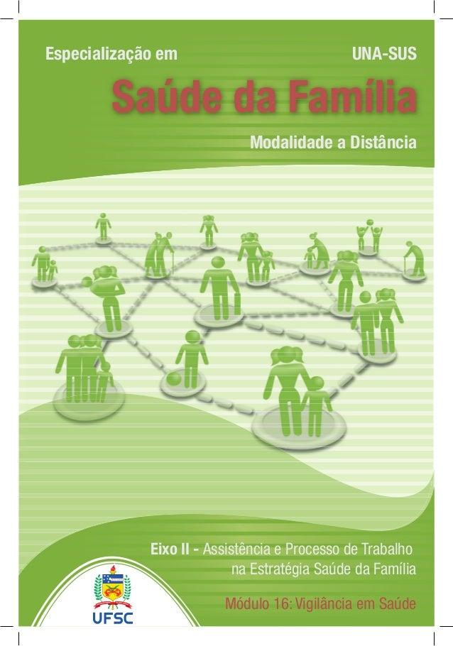 EspecializaçãoaDistânciaemSaúdedaFamíliaNomedaDisciplina Modalidade a Distância Especialização em UNA-SUS Saúde da Família...