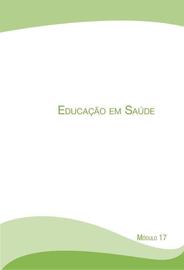 EDUCAÇÃO EM SAÚDE Slide 3