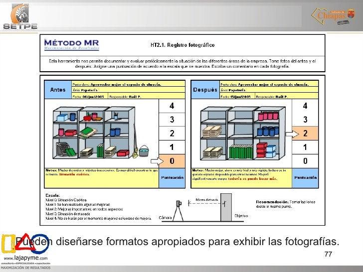 Pueden diseñarse formatos apropiados para exhibir las fotografías.