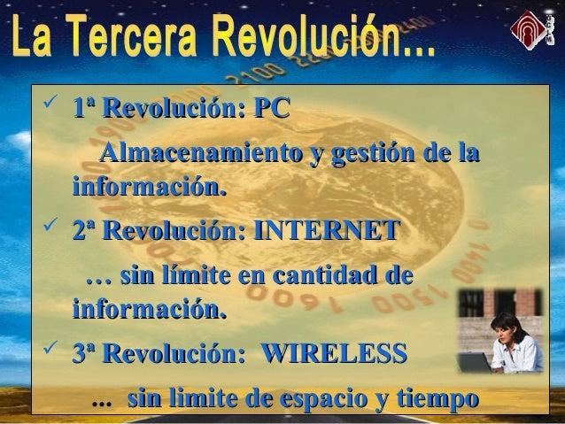  1ª Revolución: PC1ª Revolución: PC Almacenamiento y gestión de laAlmacenamiento y gestión de la información.información....