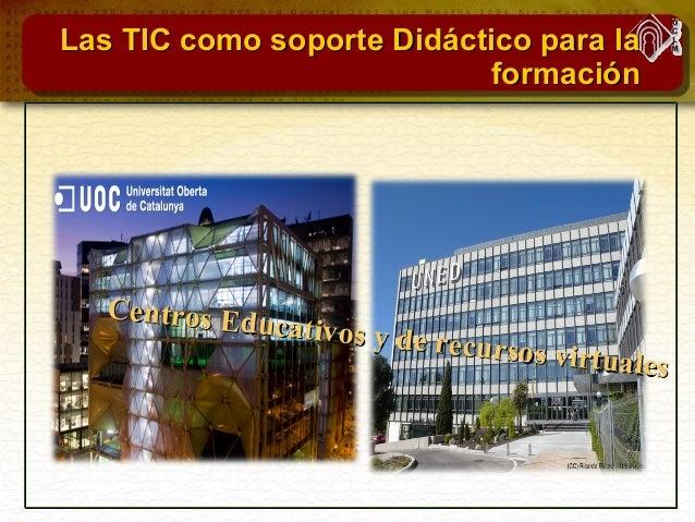 Las TIC como soporte Didáctico para laLas TIC como soporte Didáctico para la docenciadocencia La guía docente virtual del ...