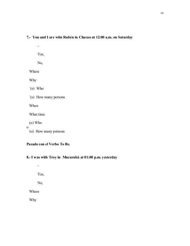 Modulo 1 To Be Isbeliz R