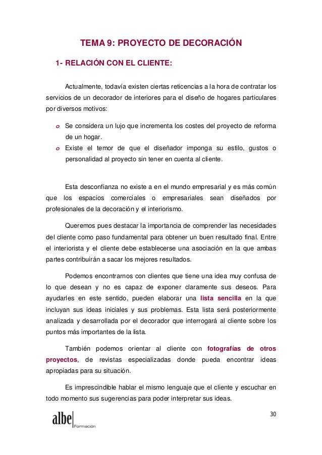 Modulo 2 decoracion de interiores - Proyecto de decoracion de interiores ...