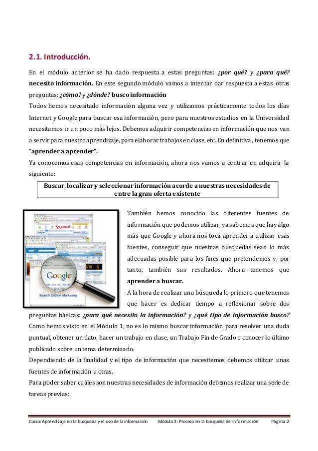 Modulo 2 Proceso en la busqueda de informacion_2020_2 Slide 2