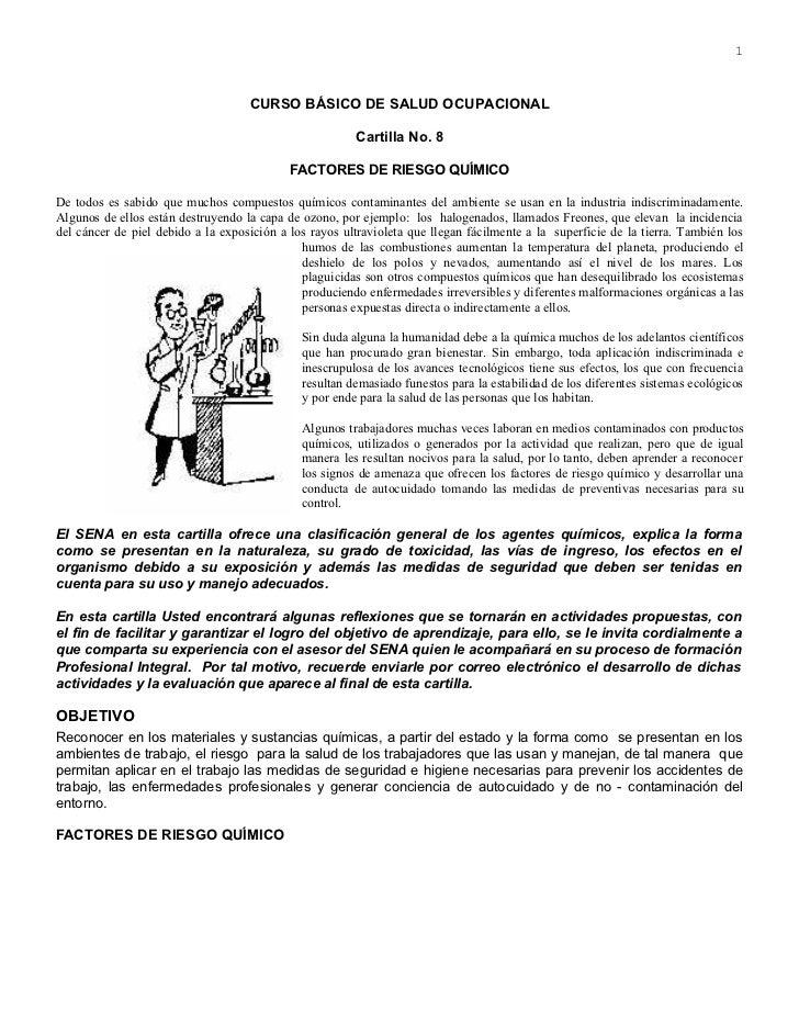 1                                    CURSO BÁSICO DE SALUD OCUPACIONAL                                                    ...