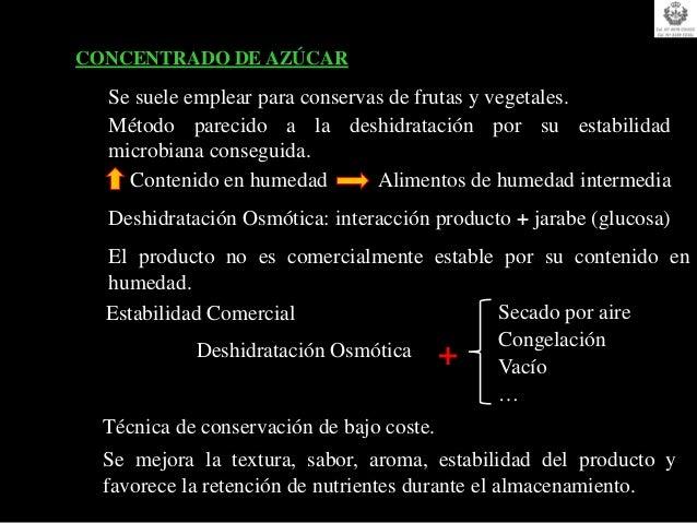Lista positiva de aditivos (conservantes) alimenticios: 2001