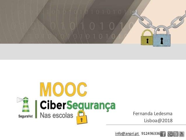 Parte 3 Cibersegurança  cuidados a ter no âmbito de projetos e atividades