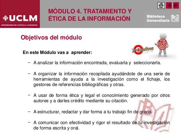 Modulo 4 Tratamiento y ética de la información. Especialidad Ciencia y Tecnología (Edición Febrero 2020) Slide 3