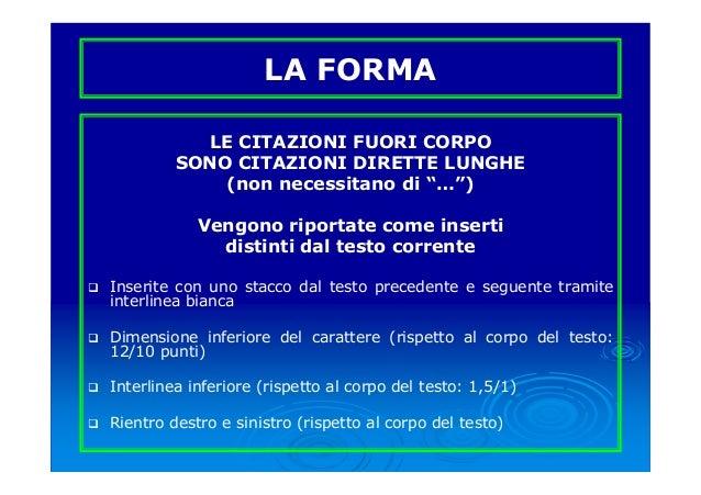 Corso 2012 13 9 Redazione Tesi Di Laurea