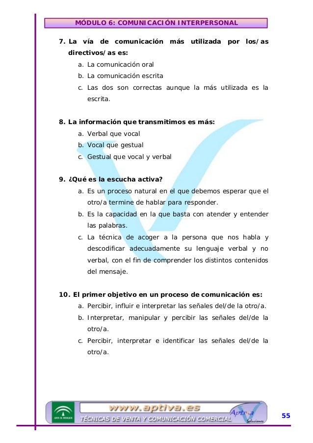 MÓDULO 6: COMUNICACIÓN INTERPERSONAL »SUPUESTO PRÁCTICO Imagina que trabajas en un hospital, eres el/la secretario/a de un...