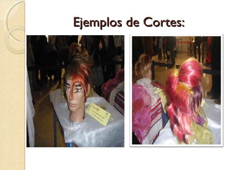 Ejemplos de Cortes: