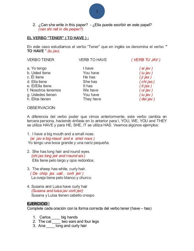 Modulo de ingles basic
