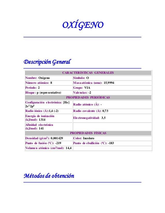 6 propiedades peridicas 29 - Tabla Periodica Grupo 6 A