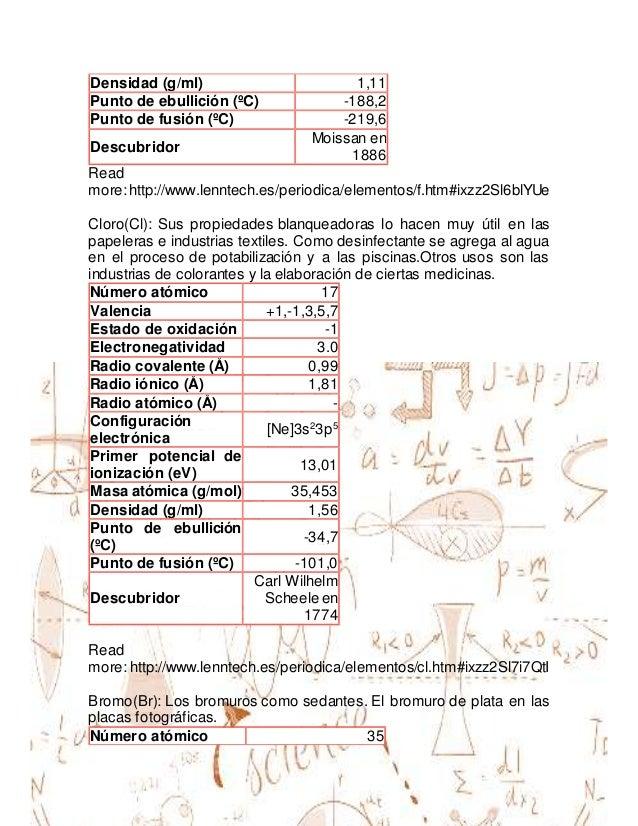 37 - Tabla Periodica Lenntech