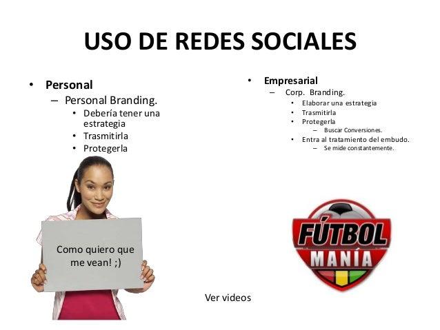 Modulo de redes sociales  Slide 3