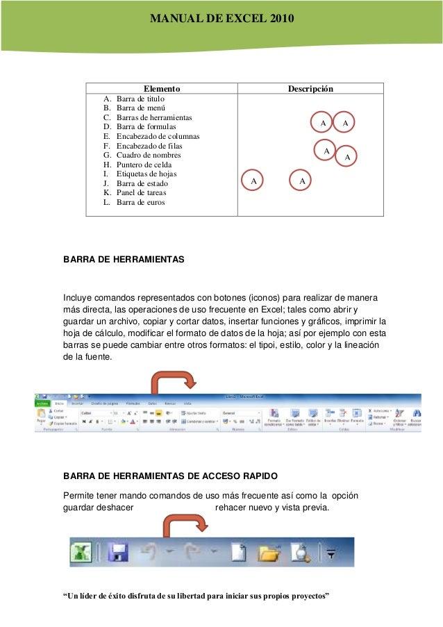 Modulo Ms Excel 2010