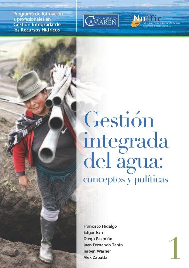 Programa de formacióna profesionales enGestión Integrada delos Recursos Hídricos                        Gestión          ...