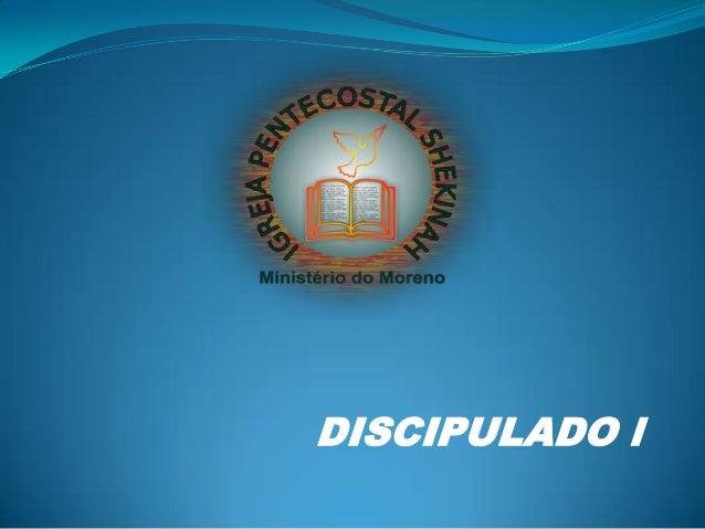 DISCIPULADO l