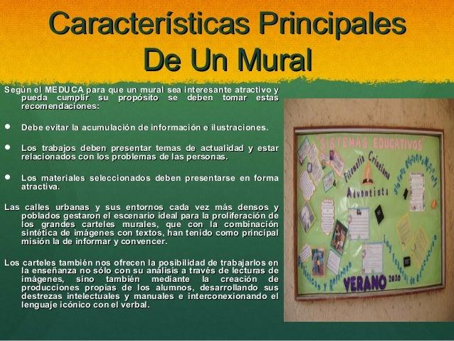 modulo ii comunicaci n y tecnologia ForCaracteristicas De Un Mural