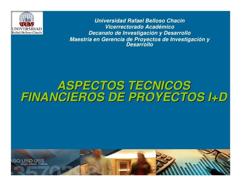 Universidad Rafael Belloso Chacin                   Vicerrectorado Académico             Decanato de Investigación y Desar...