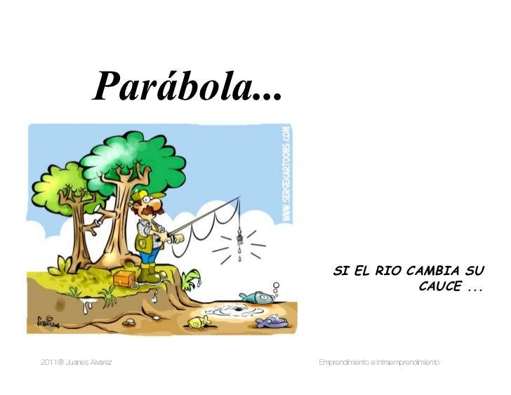 Parábola...                                           SI EL RIO CAMBIA SU                                                 ...