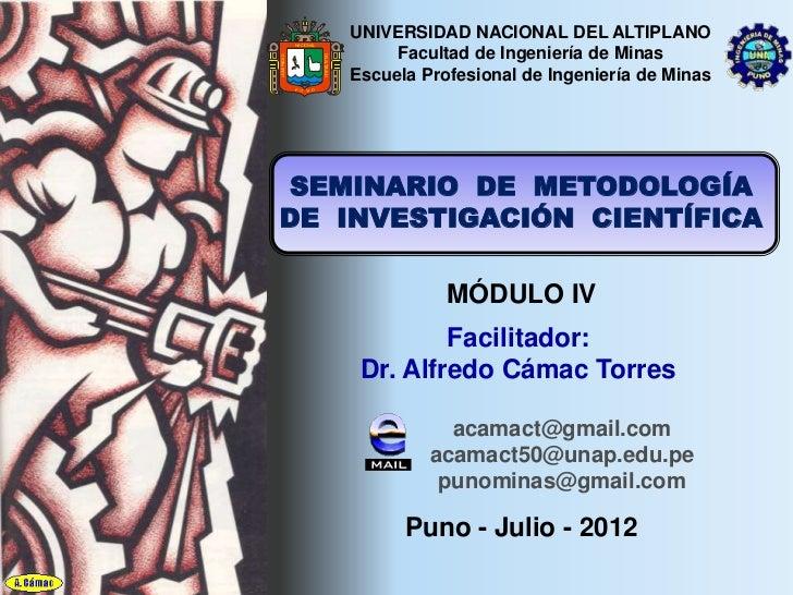 UNIVERSIDAD NACIONAL DEL ALTIPLANO              NACIONAL                                             Facultad de Ingenierí...
