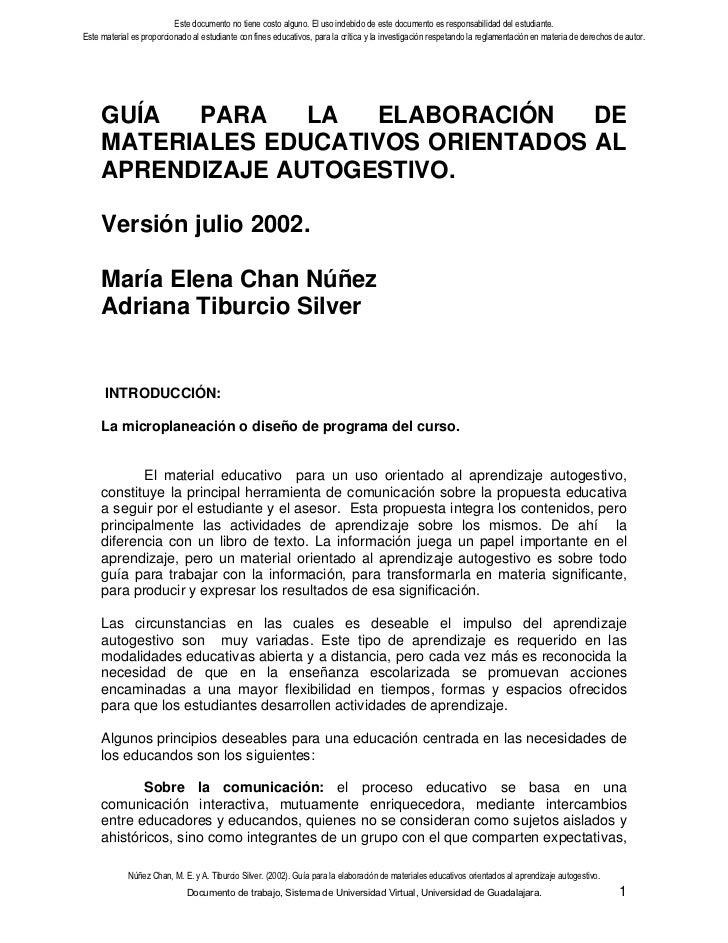 Este documento no tiene costo alguno. El uso indebido de este documento es responsabilidad del estudiante.Este material es...