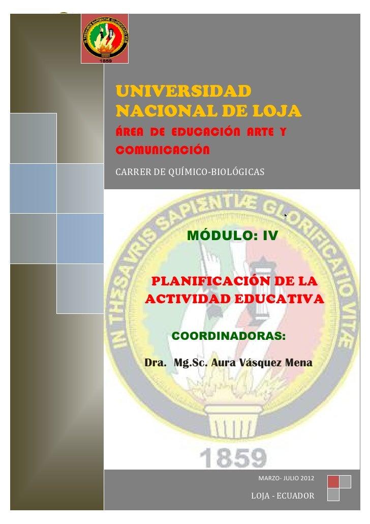 UNIVERSIDAD NACIONAL DE LOJA                A.E.A.C.                 UNIVERSIDAD                 NACIONAL DE LOJA         ...