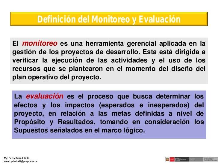 DISEÑO DE INDICADORES PARA EL MONITOREO Y EVALUACIÓN DE LA GESTIÓN P…