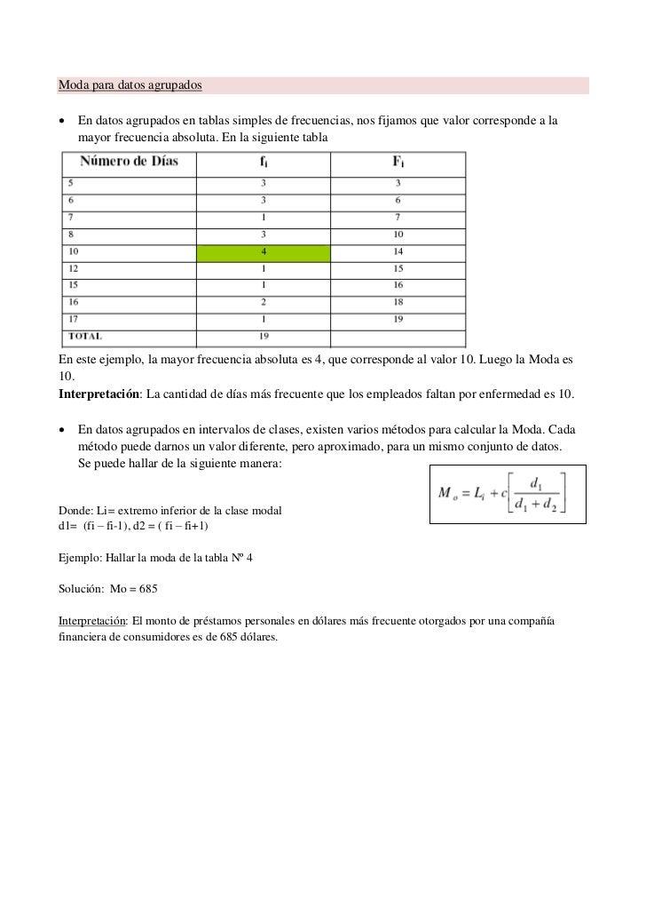 Modulo Estadística 2011