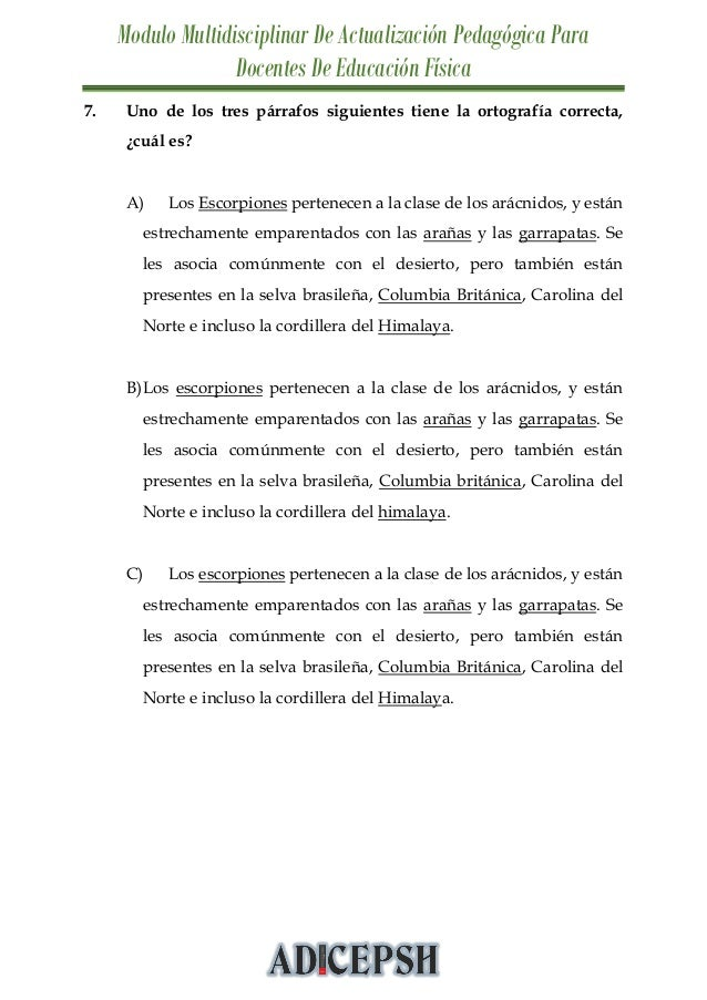 MODULO MULTIDISCIPLINAR DE ACTUALIZACIÓN PEDAGÓGICA PARA DOCENTES DE …