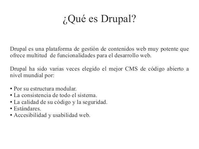 Creando módulos en Drupal 7 Slide 2
