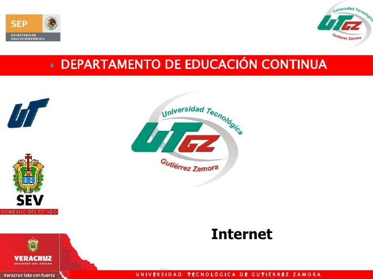 DEPARTAMENTO DE EDUCACIÓN CONTINUA<br />