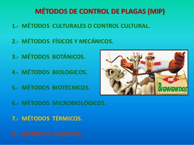 Resultado de imagen para metodos de control del mip