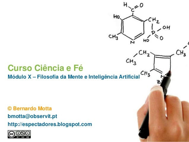 Curso Ciência e Fé Módulo X – Filosofia da Mente e Inteligência Artificial © Bernardo Motta bmotta@observit.pt http://espe...