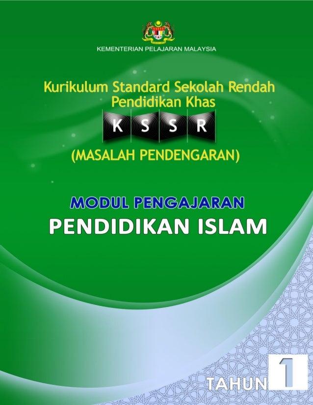 KEMENTERIAN PELAJARAN MALAYSIA  KURIKULUM STANDARD SEKOLAH RENDAH PENDIDIKAN KHAS (MASALAH PENDENGARAN)  MODUL PENGAJARAN ...
