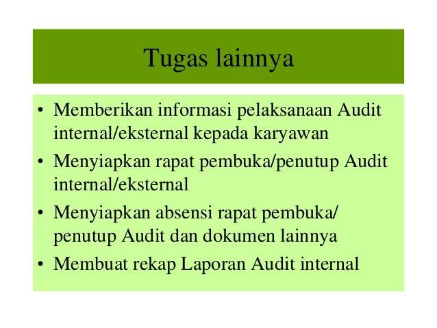 Contoh Format Laporan Audit Internal Contoh Top