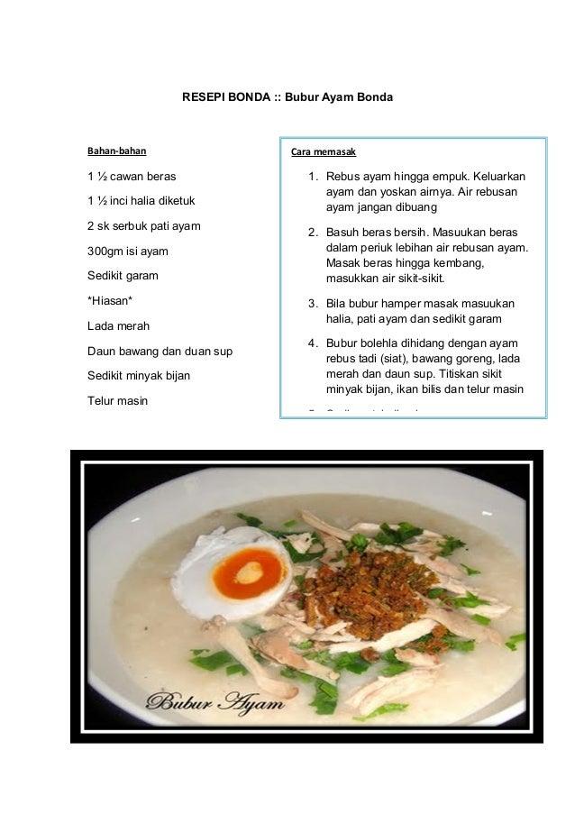 Resepi Isi Ayam Goreng Rangup