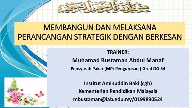 Perancangan Strategik Untuk Agensi Sektor Awam (Public Organization) Slide 2