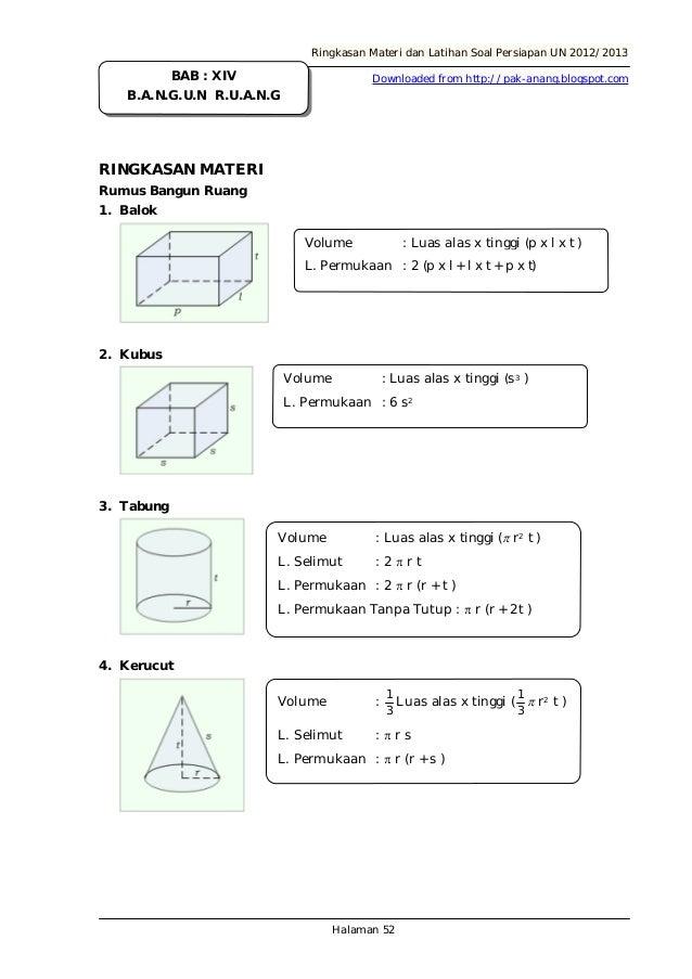 Modul Persiapan Un Matematika Smk 2013 Revised