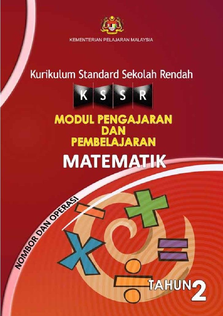 KEMENTERIAN PELAJARAN MALAYSIAKurikulum Standard Sekolah Rendah       MODUL     PENGAJARAN        DAN    PEMBELAJARAN     ...