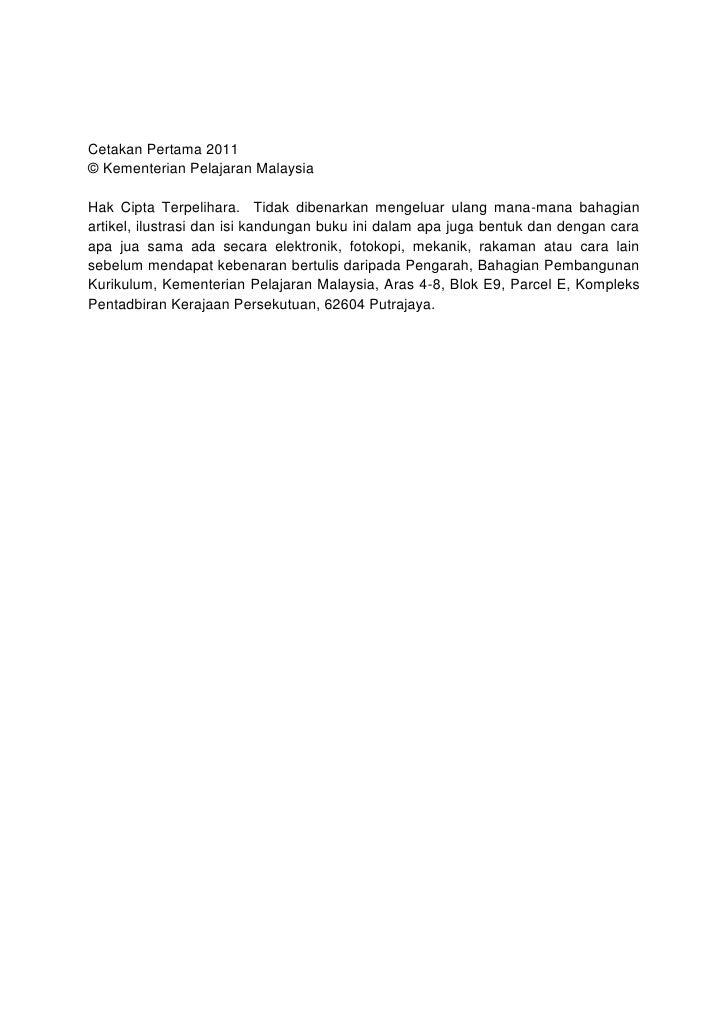 Menulis perpuluhan                                            254 – 260Mengenal dan menyebut nilai mata wang Malaysia     ...