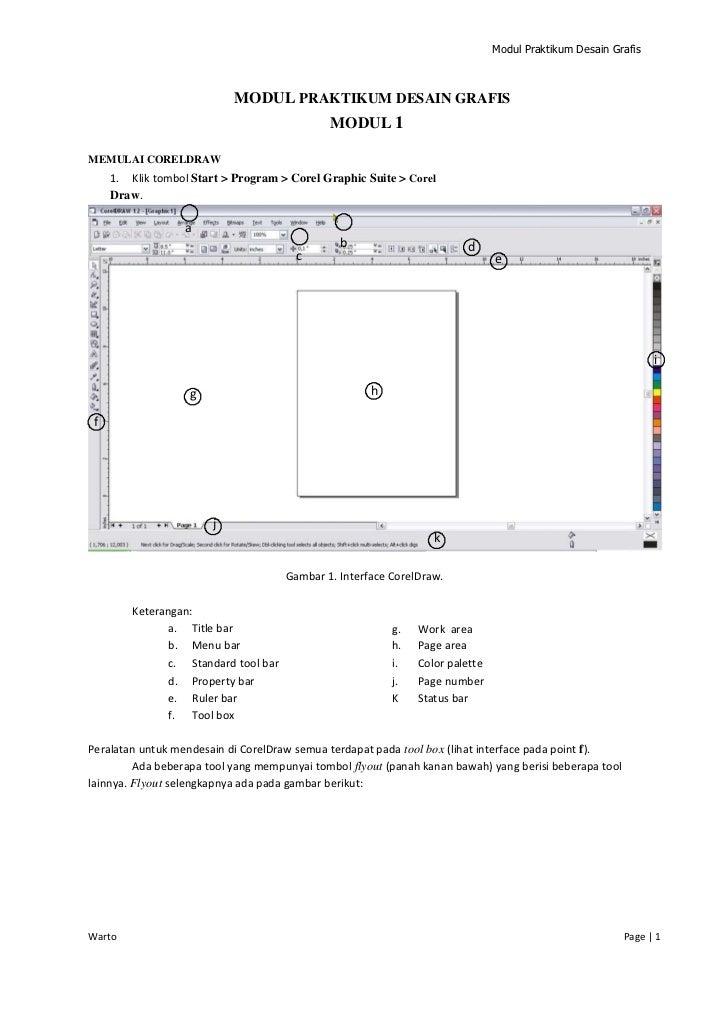 Modul Praktikum Desain Grafis                           MODUL PRAKTIKUM DESAIN GRAFIS                                     ...