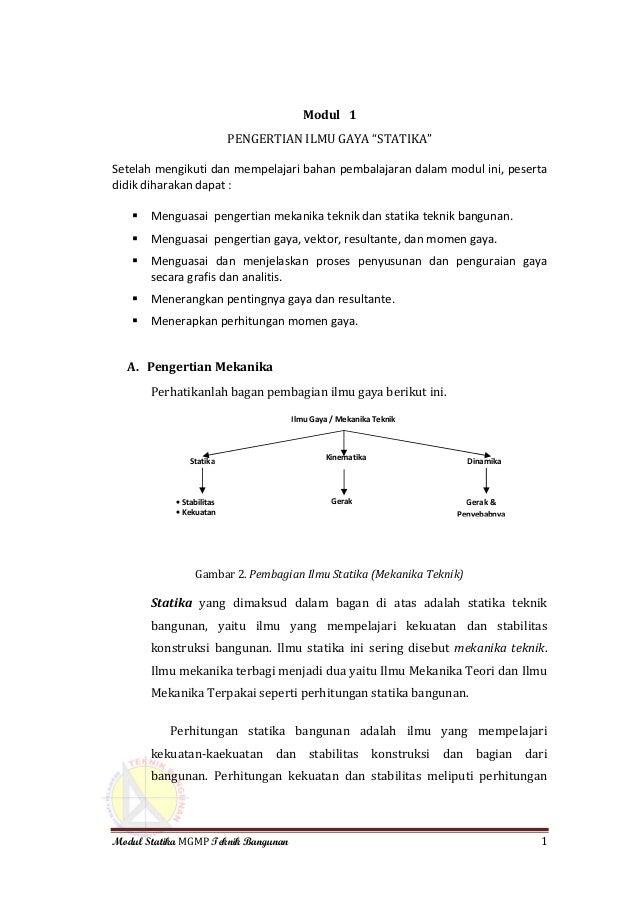 Pdf buku mekanika teknik