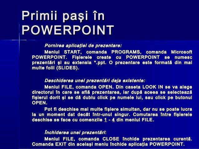 ecdl powerpoint
