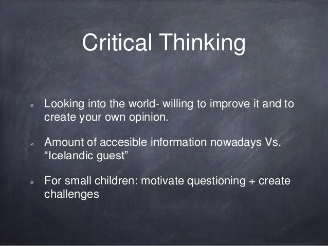 critical thinking education for responsible citizenship in a democracy Education and democracy universal education as necessary for effective citizenship civic education must include responsible critique.