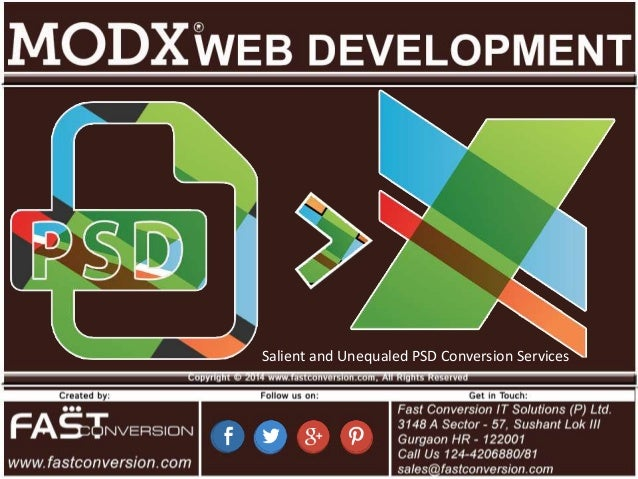 Salient and Unequaled PSD Conversion Services