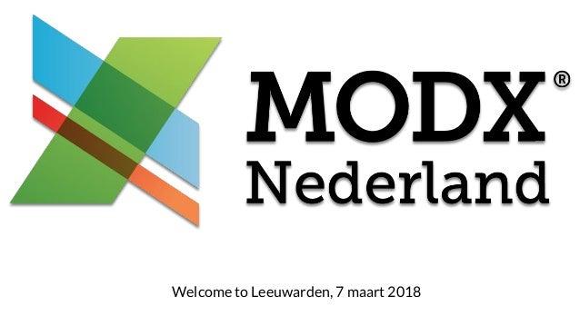 Welcome to Leeuwarden, 7 maart 2018