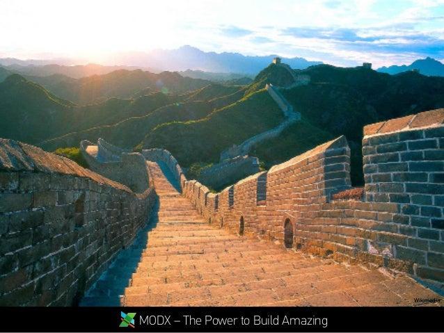 MODX – The Power to Build Amazing Wikimedia
