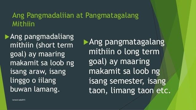 mithiin ng isang tao sa paaralan Ang mananaliksik ay kumuha ng datos sa (1) isang mataas na paaralan lamang sa virac  sa buhay ng isang tao  mithiin sa buhay ay ang pagkakaroon ng.